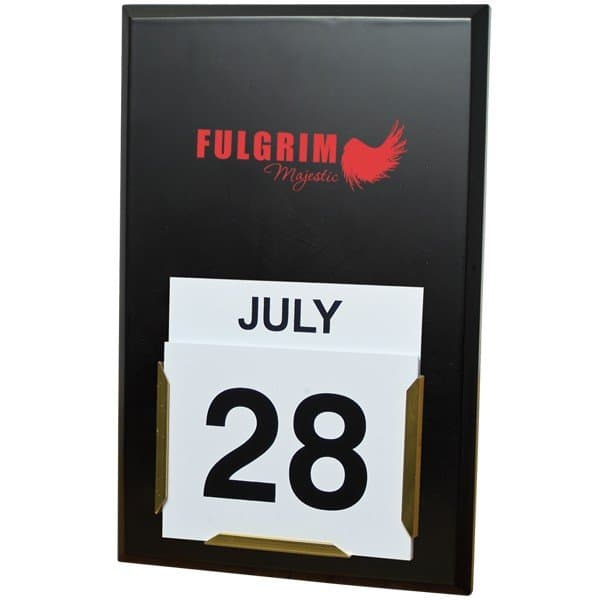 Daily Date Wall Calendar Board