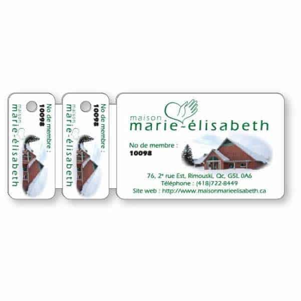 Premium Wallet Card & 2 Key Tag Combo