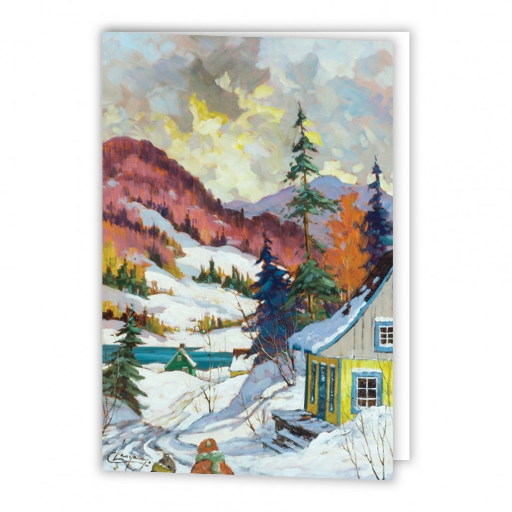The Saguenay Fjord Holiday Card